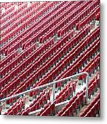 Stadium Seats Metal Print by Frank Gaertner