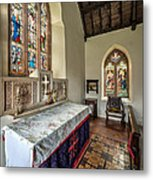 Stained Glass Metal Print by Adrian Evans