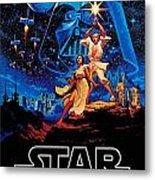 Star Wars Metal Print by Farhad Tamim