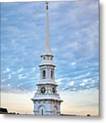 Steeple And Rooftops Metal Print by Eric Gendron