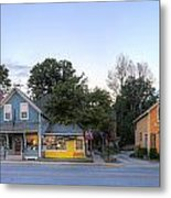 Sutton's Bay Shops Metal Print by Twenty Two North Photography