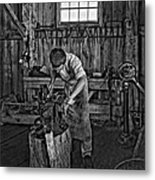 The Apprentice Monochrome Metal Print by Steve Harrington