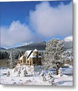 The Chapel On The Rock I Metal Print by Eric Glaser