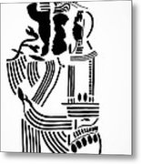 The Holy Family Metal Print by Gloria Ssali