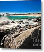 The Jersey Shore Metal Print by Paul Ward