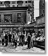 The Market At Pike Place Metal Print by David Patterson