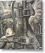 The Roughneck Metal Print by Shawn Marlow