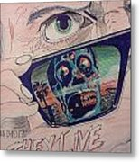They Live Metal Print by Christopher Soeters