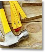 Tools Metal Print by Les Cunliffe