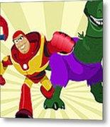 Toy Story Avengers Metal Print by Lisa Leeman