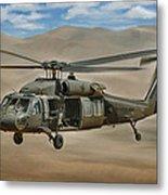 Uh-60 Blackhawk Metal Print by Dale Jackson