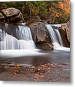 Upper Screw Auger Falls Metal Print by Patrick Downey