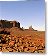 Utah's Iconic Monument Valley Metal Print by Christine Till