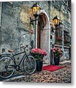 Vintage Bicycle Metal Print by Dobromir Dobrinov