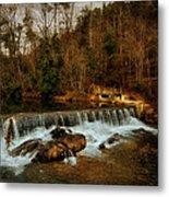 Waterfall Metal Print by Mario Celzner