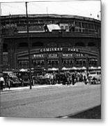 White Sox Home Comiskey Park Metal Print by Retro Images Archive
