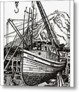 Will Fish Again Another Day Metal Print by Jack Pumphrey