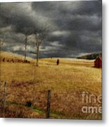 Winter Begins Metal Print by Lois Bryan