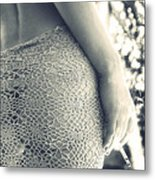 Woman Metal Print by Stelios Kleanthous