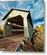 Wooden Covered Bridge  Metal Print by Ulrich Schade