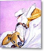 Zonked Into Blissfulness Metal Print by Ruth Bodycott