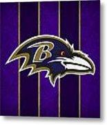 Baltimore Ravens Metal Print by Joe Hamilton