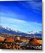 Capitol Reef National Park Burr Trail Metal Print by Mark Smith
