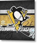 Pittsburgh Penguins Metal Print by Joe Hamilton
