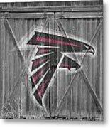 Atlanta Falcons Metal Print by Joe Hamilton