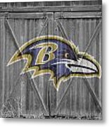 Baltimore Ravens Metal Print by Joe Hamilton