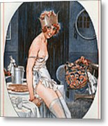 La Vie Parisienne  1926 1920s France Cc Metal Print by The Advertising Archives