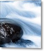Stream Metal Print by Les Cunliffe