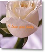 Rose For You Metal Print by Gornganogphatchara Kalapun