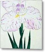 Japanese Flower Metal Print by Japanese School