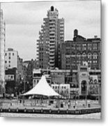 165 Charles Street Pier 45 Hudson River Park New York City  Metal Print by Joe Fox