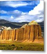 Capitol Reef National  Park Cathedral Valley Metal Print by Mark Smith