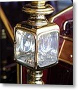 1907 Panhard Et Levassor Lamp Metal Print by Jill Reger