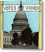 1913 Votes For Women Metal Print by Historic Image