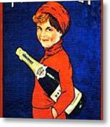 1920 - Freixenet Wines - Advertisement Poster - Color Metal Print by John Madison