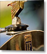 1925 Isotta Fraschini Tipo 8a S Corsica Boattail Speedster Hood Ornament Metal Print by Jill Reger
