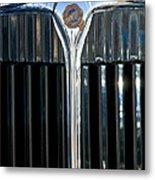 1932 Chrysler Hood Ornament Metal Print by Jill Reger