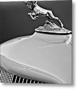 1933 Dodge Ram Hood Ornament 2 Metal Print by Jill Reger