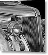 1936 Ford - Stainless Steel Body Metal Print by Jill Reger