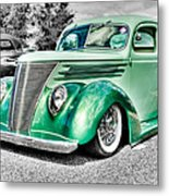 1937 Ford Coupe Metal Print by Phil 'motography' Clark