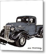 1938 Chevy Pickup Metal Print by Jack Pumphrey