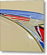 1940 Chevrolet Pickup Hood Ornament 2 Metal Print by Jill Reger