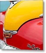 1946 Desoto Skyview Taxi Cab Hood Ornament Metal Print by Jill Reger