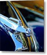 1947 Packard Hood Ornament 4 Metal Print by Jill Reger