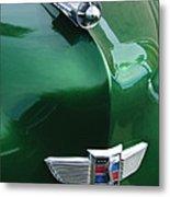 1949 Studebaker Champion Hood Ornament Metal Print by Jill Reger