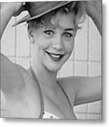 1950s Pinup Metal Print by Chuck Staley